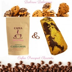 Cafea cu Cardamon si Chec de Casa