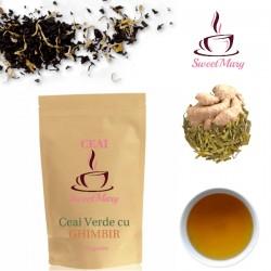 Ceai Verde cu Ghimbir