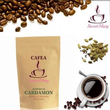 Cafea cu Cardamon Proaspat Rasnita