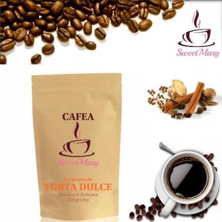 Cafea cu Turta Dulce Proaspat Rasnita